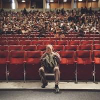Yleisöä Bio Rexissä 23.9. Kuva: Vessi Hämäläinen