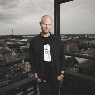 Ohjaaja Magnus Hedberg (From the Depths of My Heart). Kuva: Vessi Hämäläinen