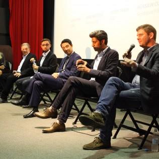 FFA: Developing a film for the American marketplace -paneeli. Kuva: Alexandra Borisova