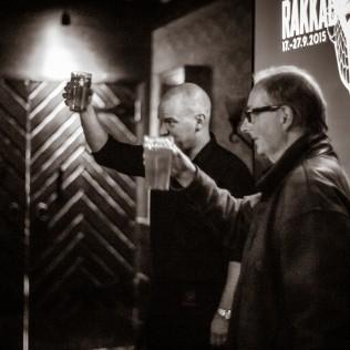 R&A-oluen lanseeraus Panimoravintola Bruuverissa 8.9. Kuva: Marko Oja
