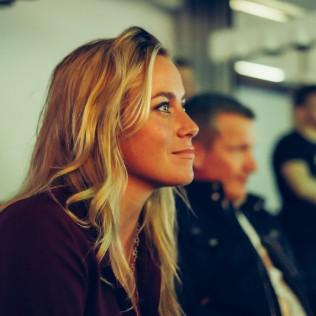 Downshiftaajat Sneak Preview, Iina Kuustonen. Kuva: Jan Ahlstedt