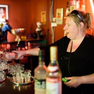 Vodka Hour Kafe Moskovassa. Kuva: Marko Saari