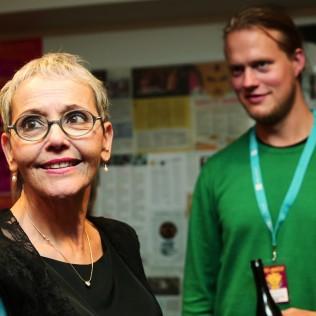 Levana Finkelstein ja Tom Sommerlatte. Kuva: Adriana Dobrin
