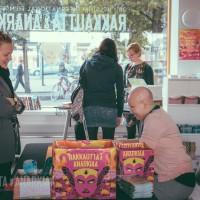 Festivaali-info. Kuva: Vitali Gusatinsky