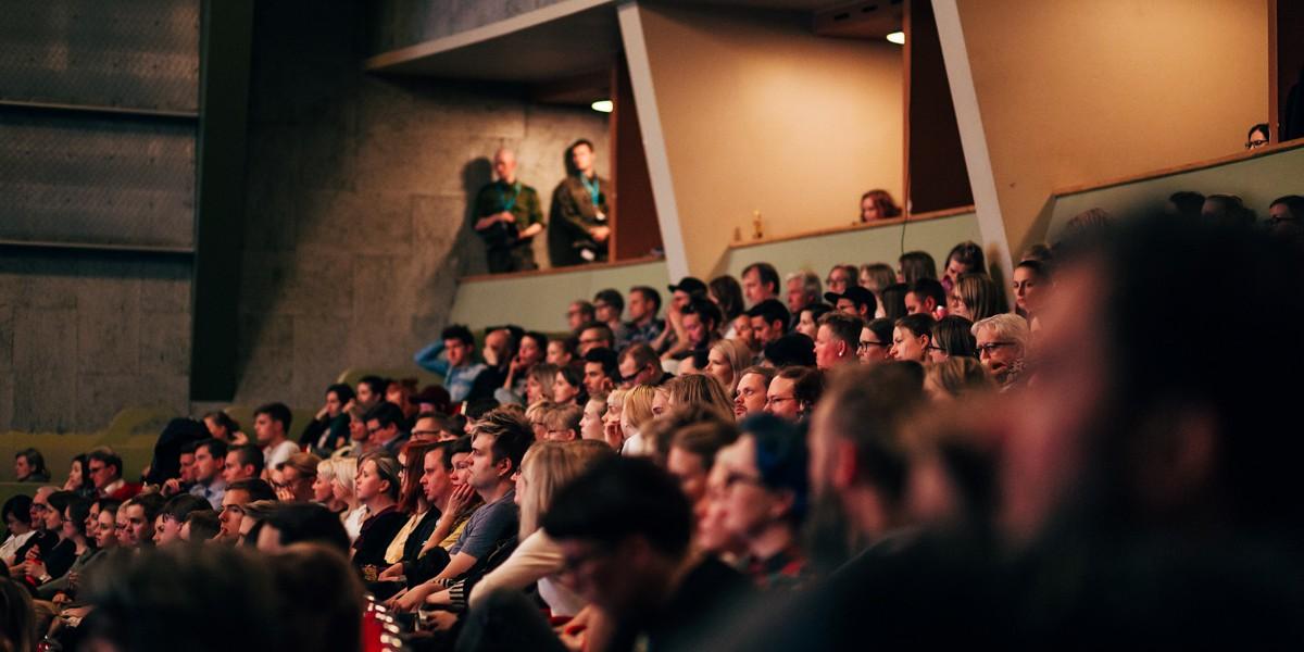 Opening screening at Bio Rex. Photo: Pauli Haanpää