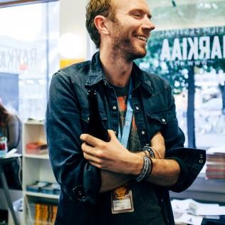 Ohjaaja Mark Noonan (You're Ugly Too). Kuva: Pauli Haanpää