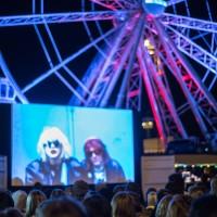 Allas Pop Up -ulkoilmanäytös 4.9., Cobain: Montage of Heck. Kuva: Mari Mur