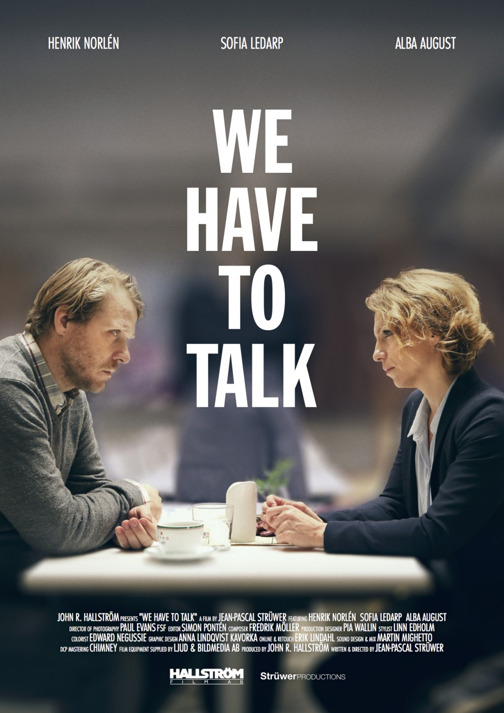 We have to talk poster