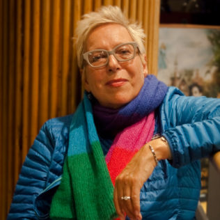Ohjaaja Doris Dörrie (Fukushima, mon amour). Kuva Alexandra Borisova.