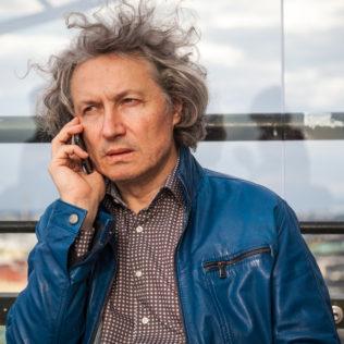 Ohjaaja Andrei Nekrasov (The Magnitsky Act – Behind the Scenes). Kuva Veera Konsti.