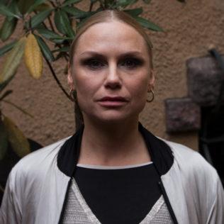 Näyttelijä Malin Levanon (Drifters). Kuva Alexandra Borisova.