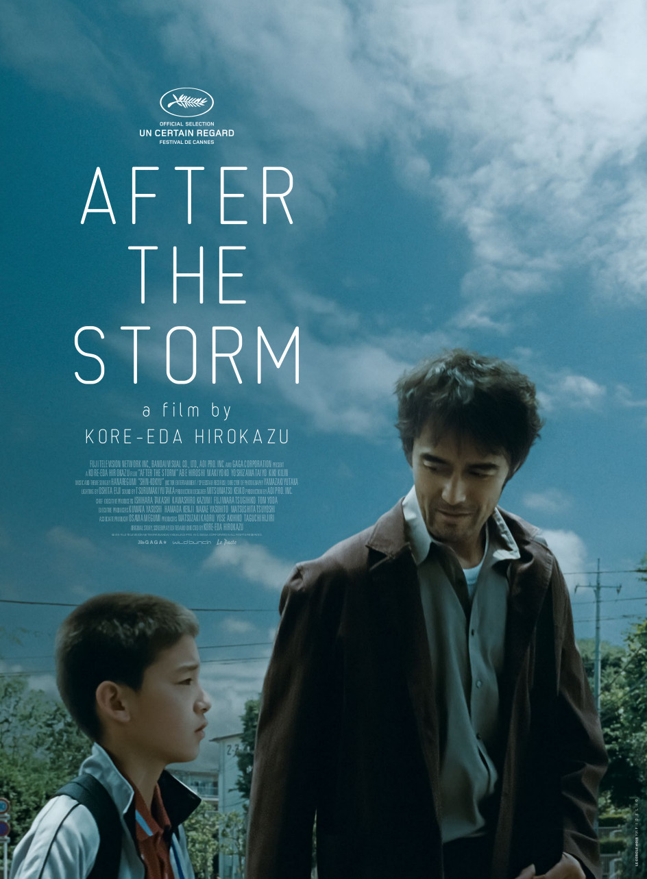 AFTER THE STORM - english- Cannes delivery Poster