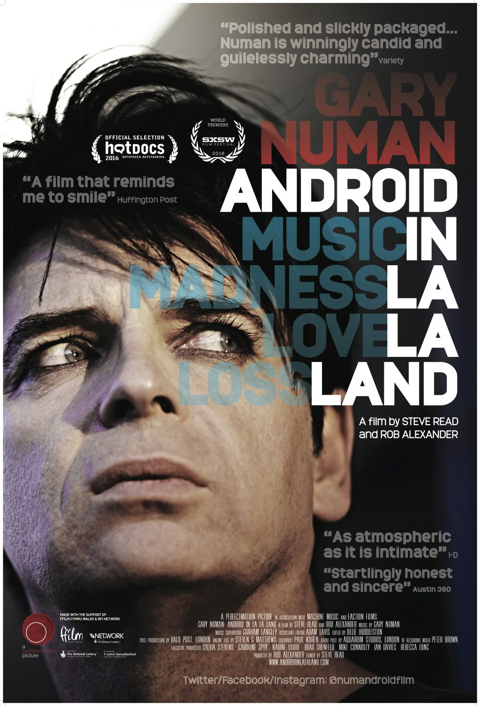 ANDROID IN LA LA LAND CANNES POSTER 27x40- (2)