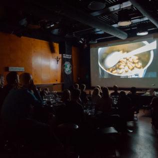 Bugs Film and Tasting. Kuva Marko Saari.