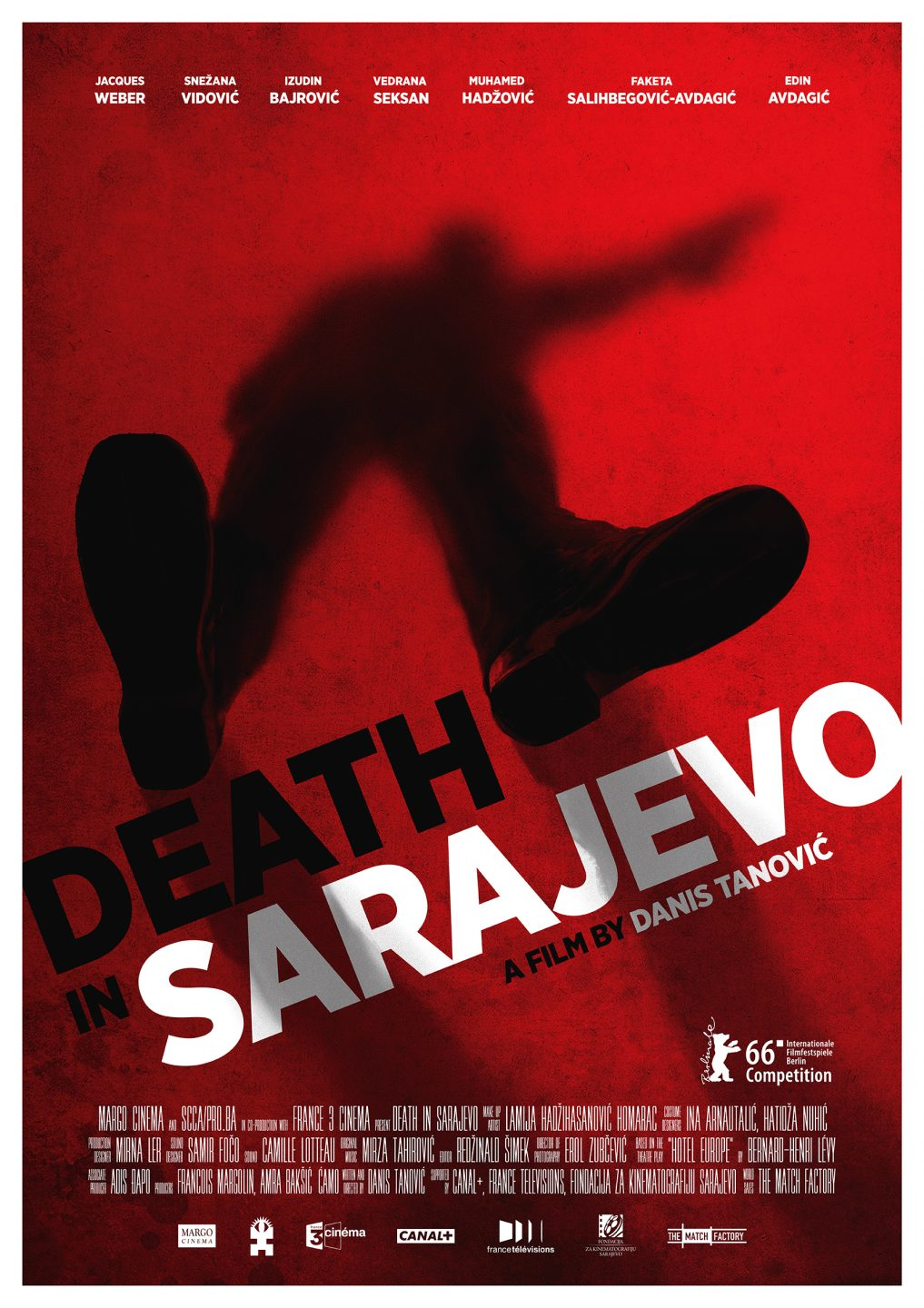 _Death in Sarajevo A1 Poster screen