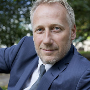 Tuottaja Mikael Rieks (Land of Mine). Kuva Pirita Särmä.
