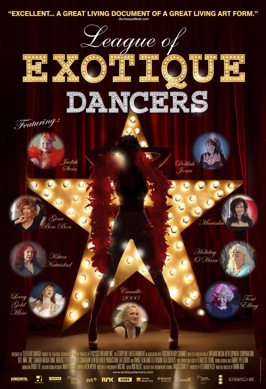 League of Exotique Dancers - Poster