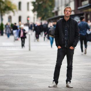 Ohjaaja Mads Matthiesen (The Model). Kuva Markus Wahlroos.