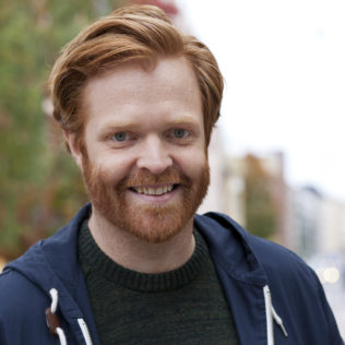 Ohjaaja Michael Graversen (Dreaming of Denmark). Kuva Pirita Särmä.