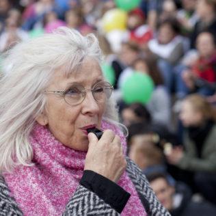 Ohjaaja Suzanne Osten (The Girl, the Mother and the Demons). Kuva Pirita Särmä.