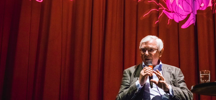Terence Davies Masterclass. Kuva Mikko Kauppinen.