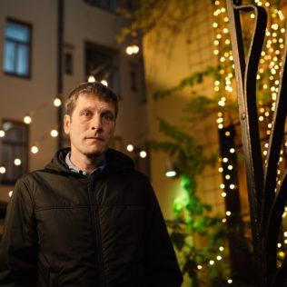 Ohjaaja Tom Browne (Radiator). Kuva Pauli Haanpää.