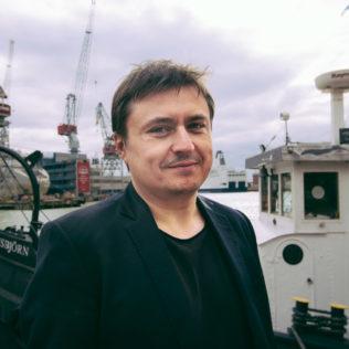 Ohjaaja Cristian Mungiu (Valmistujaiset). Kuva Mari Mur.